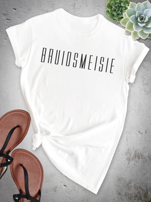 Personalized Bridesmaid Tshirt