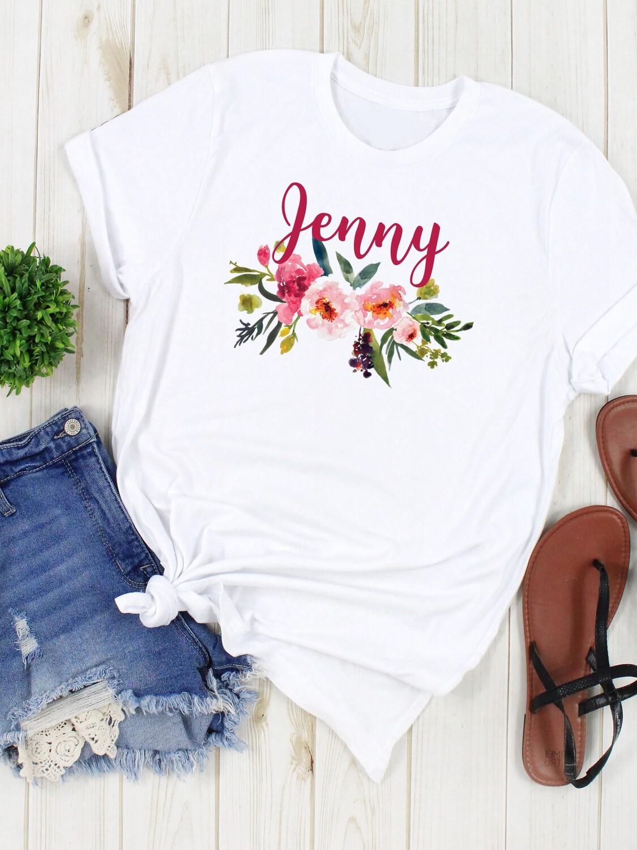 Personalized Summer Bridesmaid Tshirt