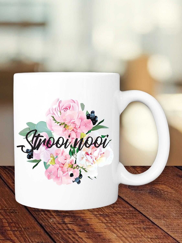 Personalized Bouquet Bridesmaid Mug