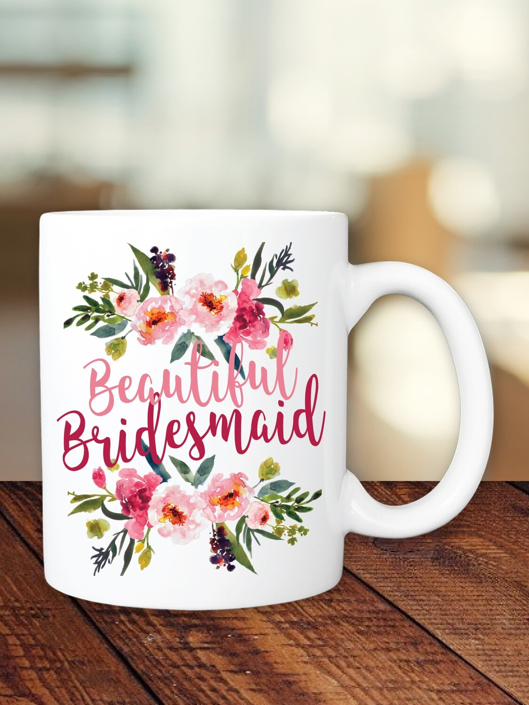 Personalized Summer Bridesmaid Mug