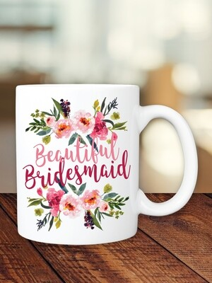 Personalized Summer Bridesmaid Mug