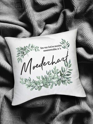 Personalized Moederhart Scatter Cushion