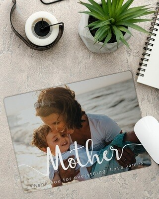 Personalized Mother Photo Mousepad