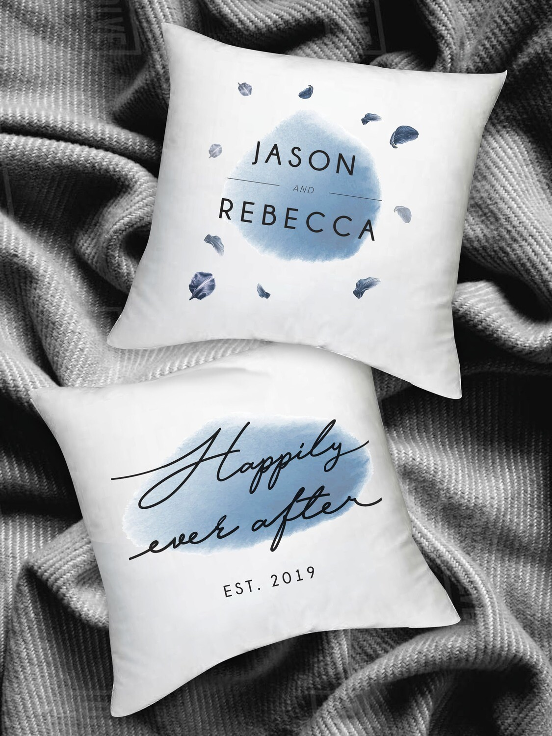 Personalized Happily Ever After Kneel Cushions