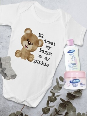 Personalized Bear Baby Vest