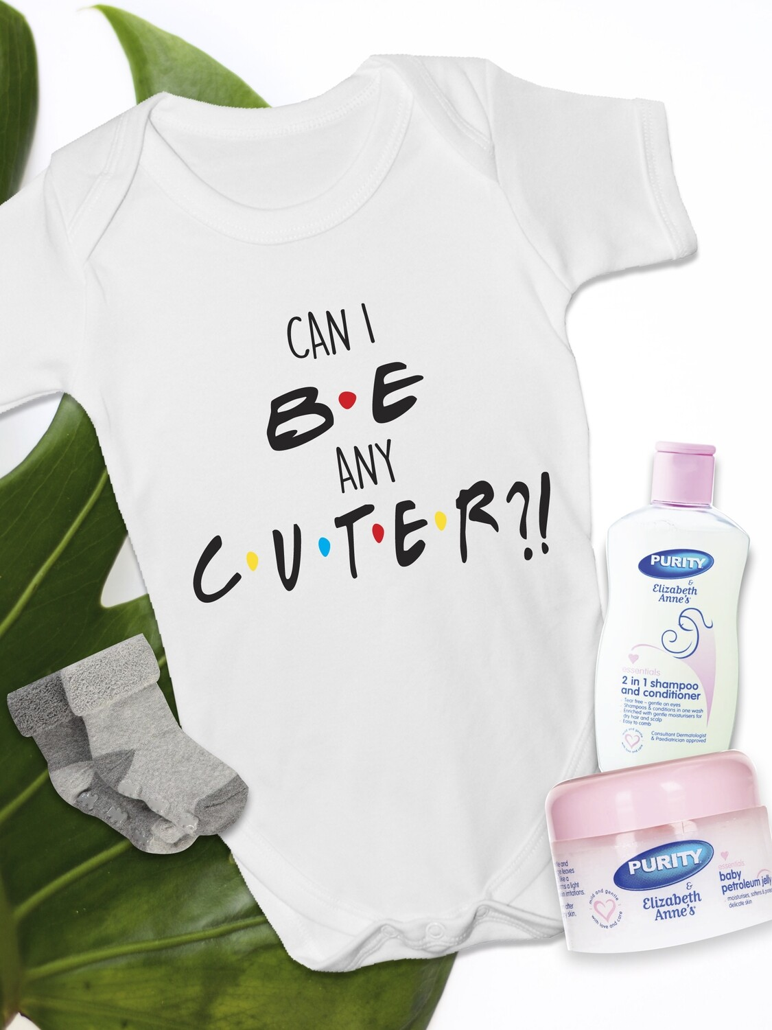 Personalized Cute Baby Vest