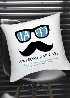 Personalized Hipster Scatter Cushion