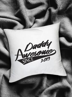 Personalized Daddy Awesome Scatter Cushion