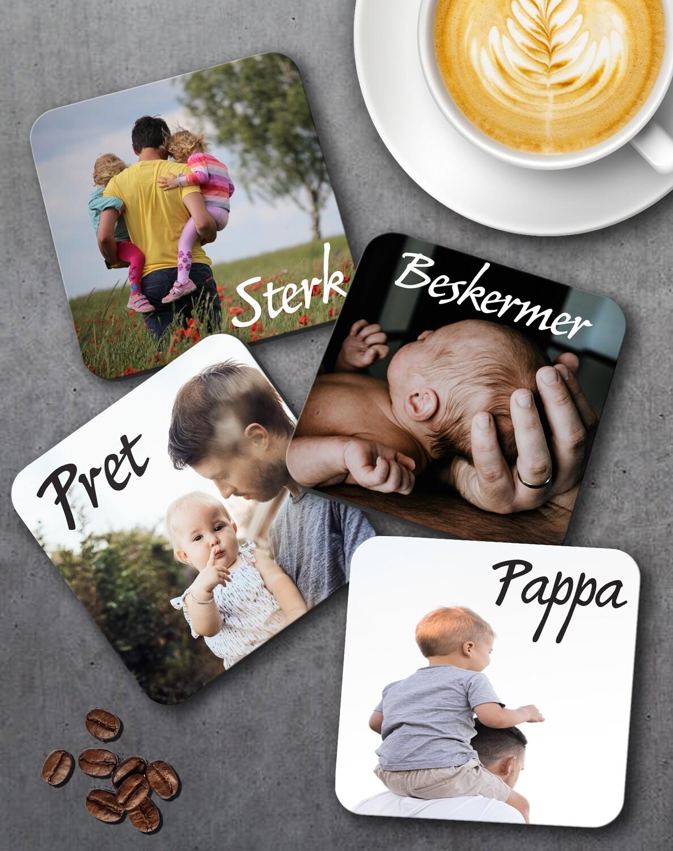 Personalized Photo Coaster Set of 4
