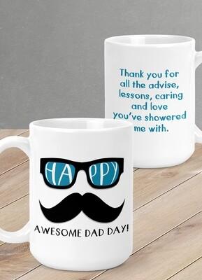 Personalized Hipster Mug