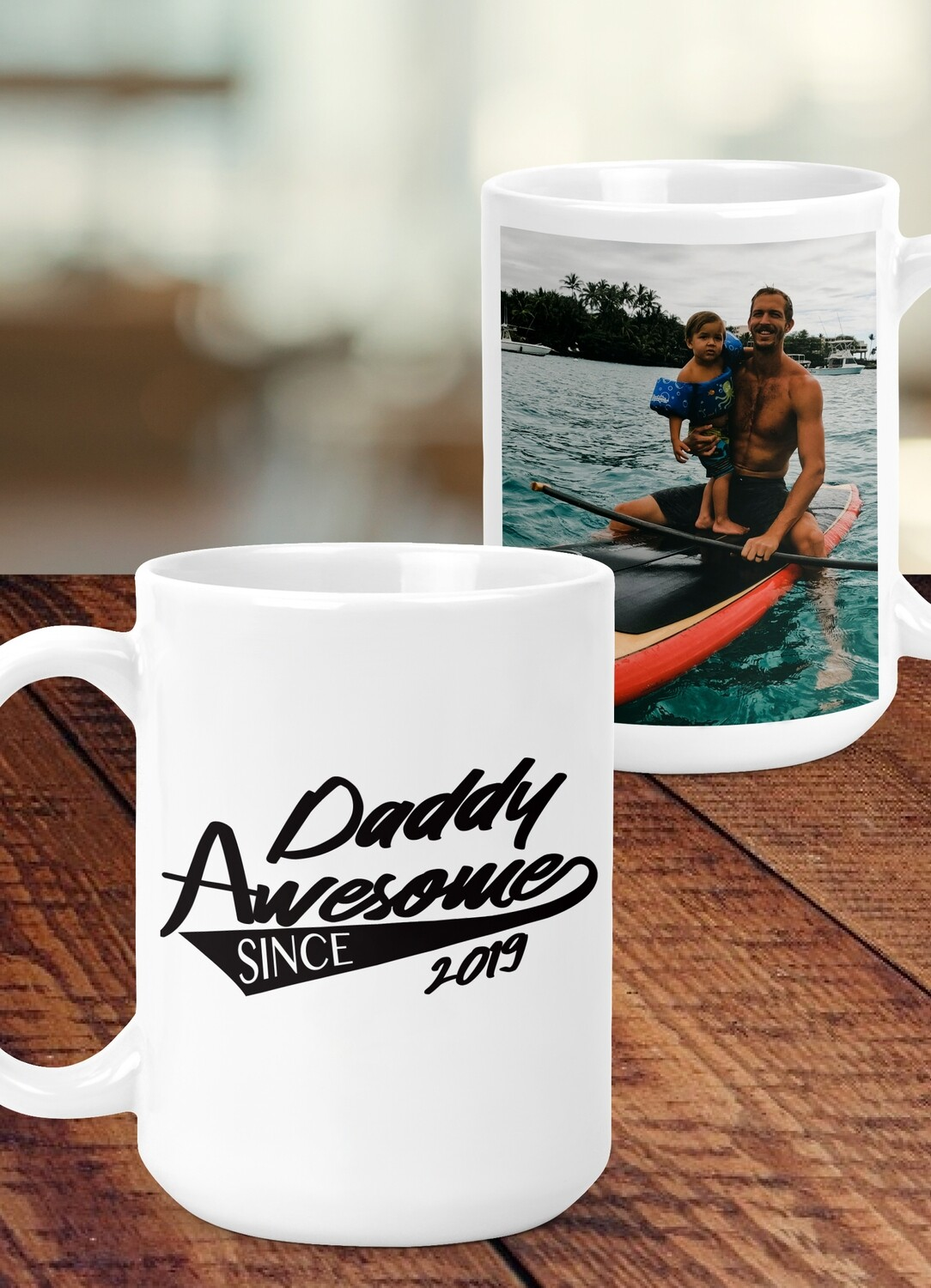 Personalized Daddy Awesome Mug