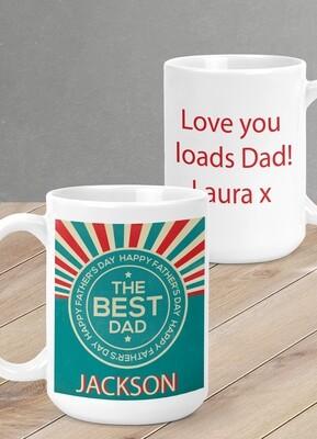 Personalized Best Dad Mug