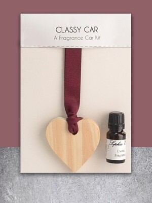 Personalised Car Freshener Wedding Gift