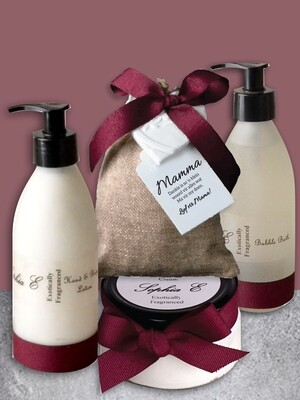 Personalised Pamper Hamper
