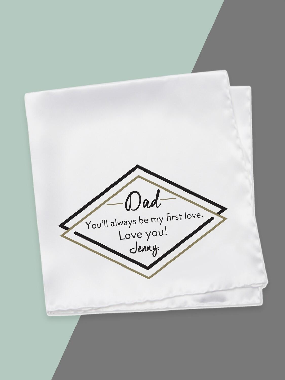 Personalised Dad Hankerchief