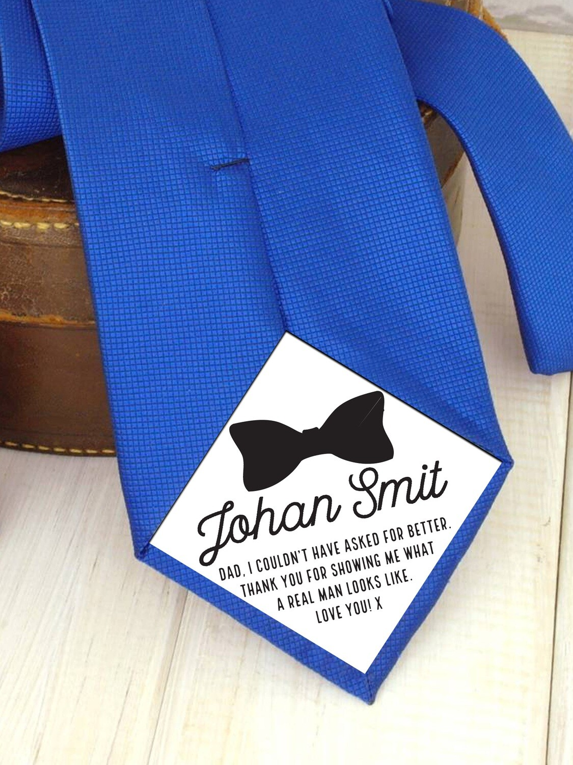 Personalized Tie Patch