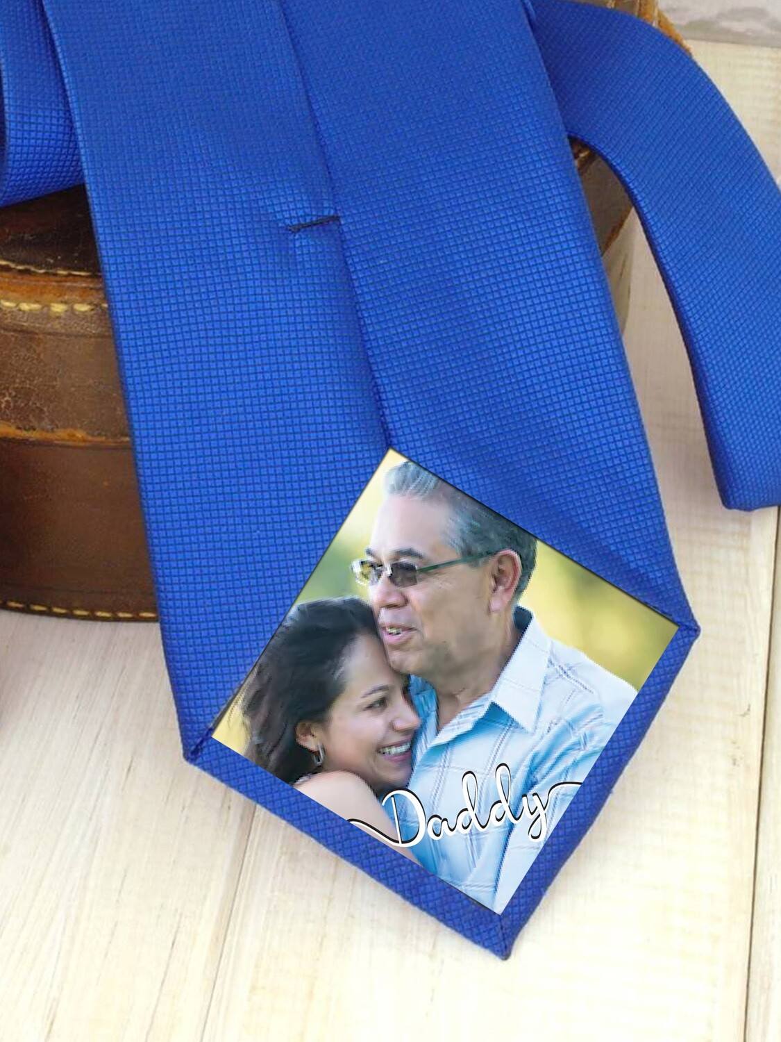 Personalized Photo Tie Patch
