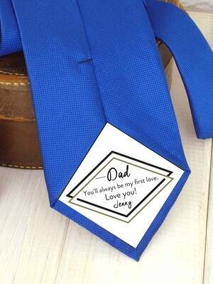 Personalized Dad Tie Patch