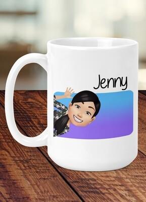 Personalized Avatar Jumbo Mug
