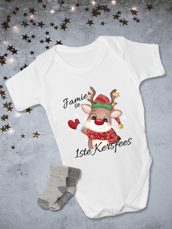 Personalised Christmas Reindeer Onesie
