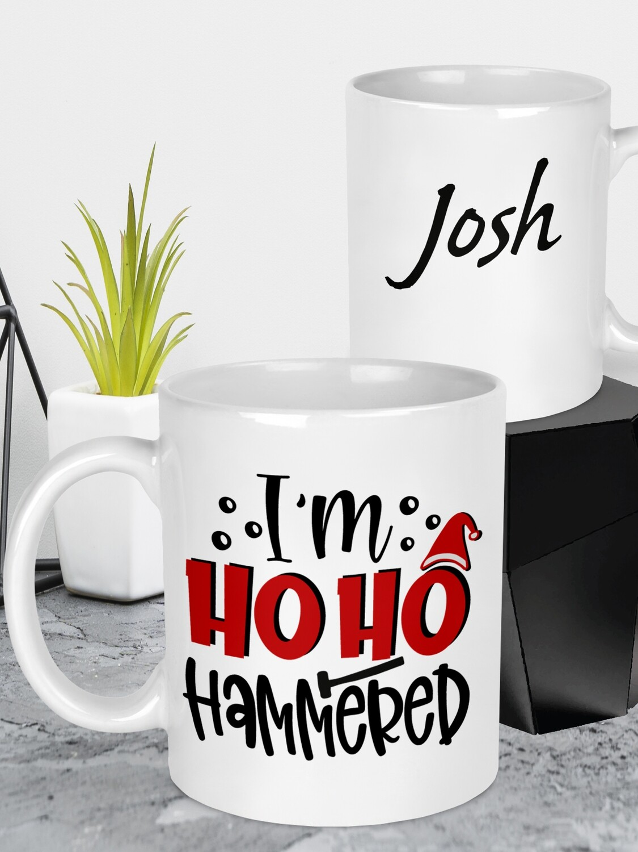 Personalised HoHo Christmas Mug