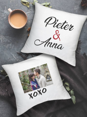 Personalized Xoxo Scatter Cushion Set