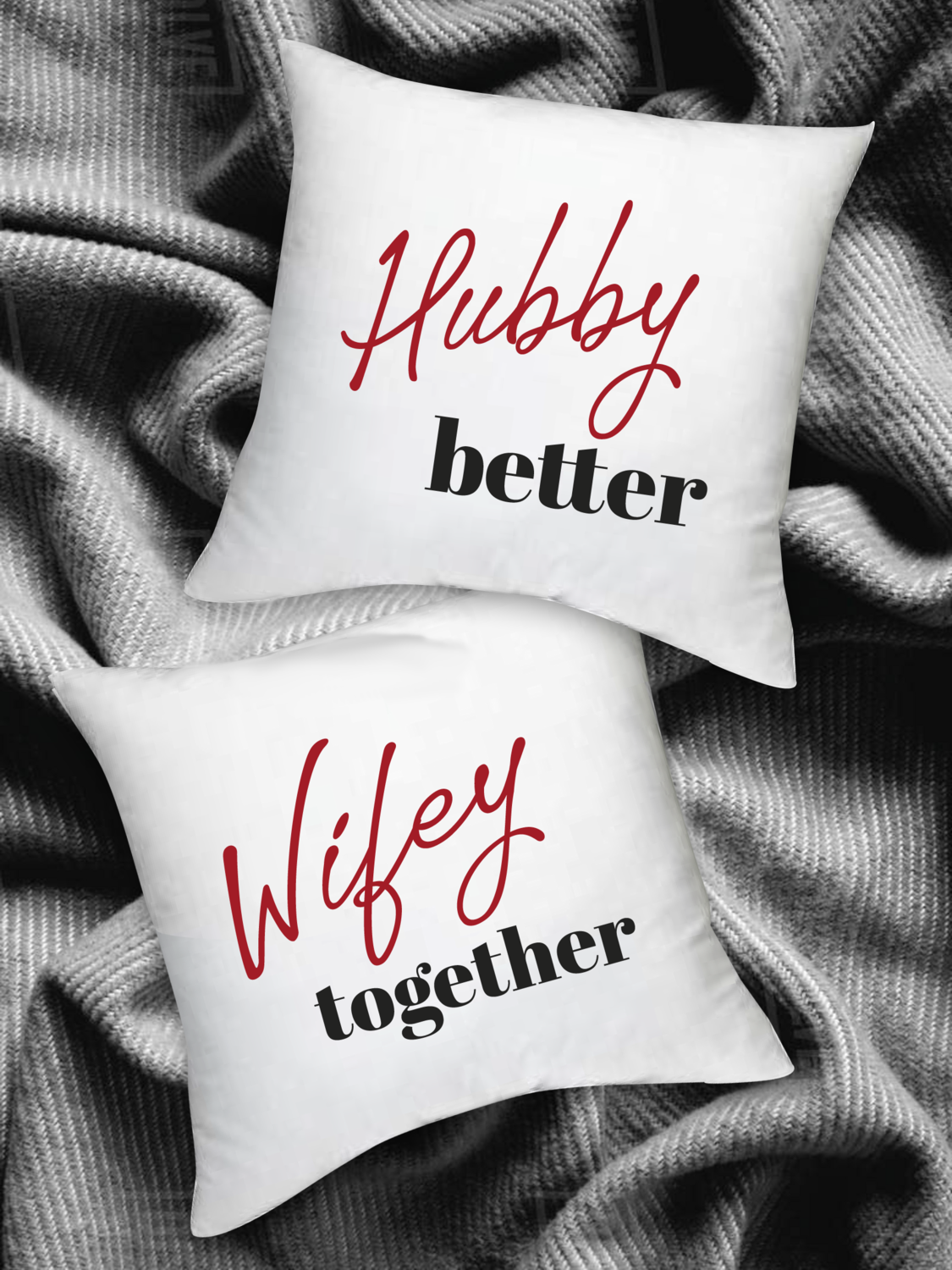 Personalized Better Together Scatter Cushion Set
