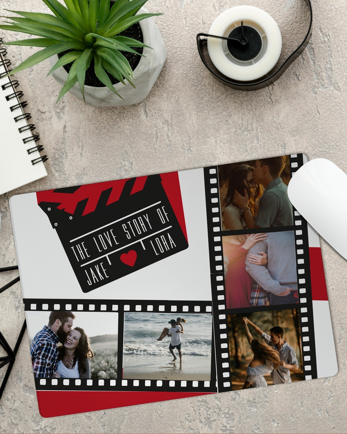 Personalised Movie Mouse Pad