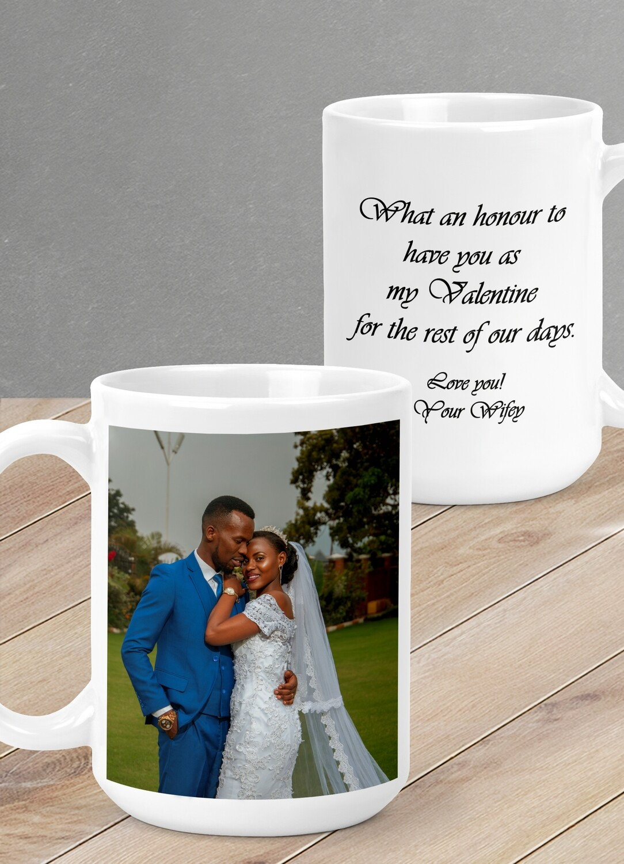 Personalized Love Photo Mug