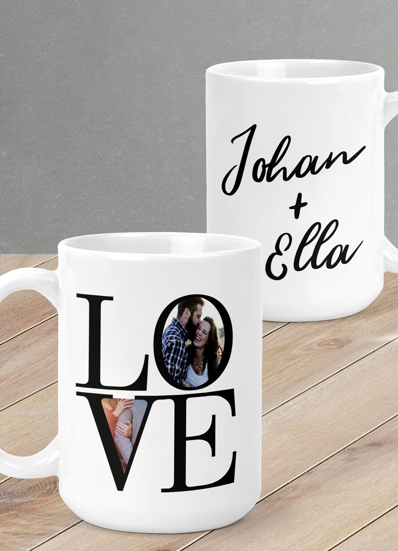 Personalized LOVE Mug