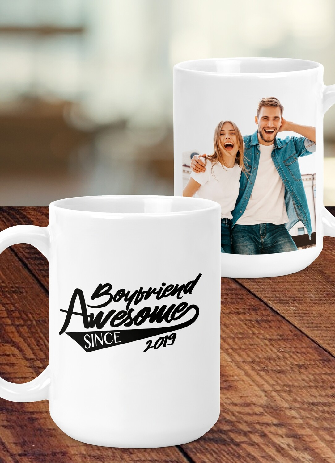 Personalized Awesome Since Mug