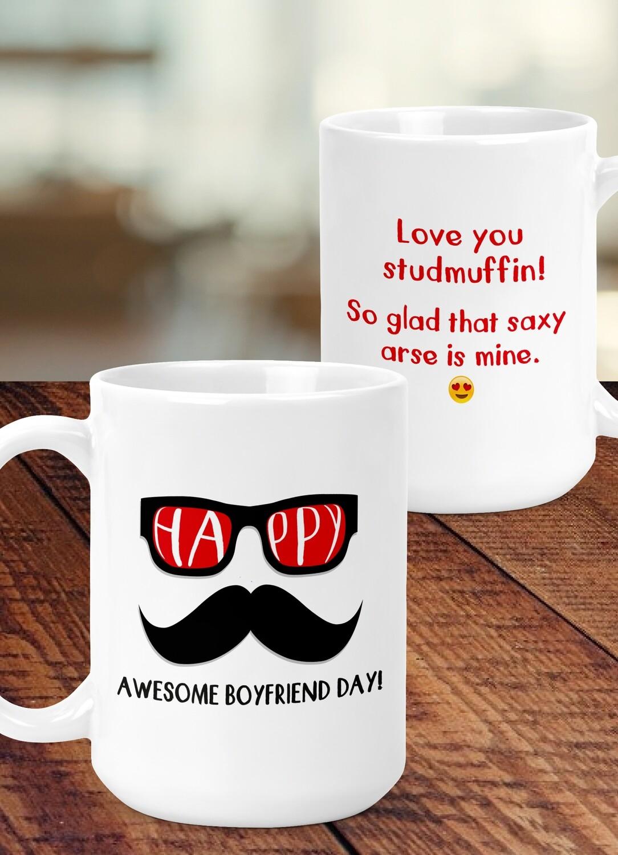 Personalized Happy Day Mug