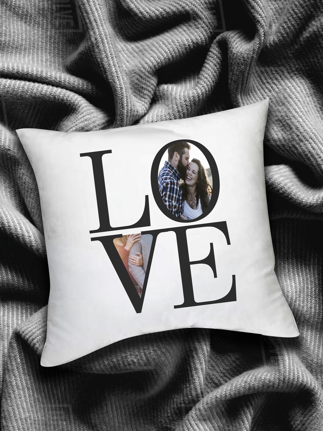 Personalized LOVE Scatter Cushion