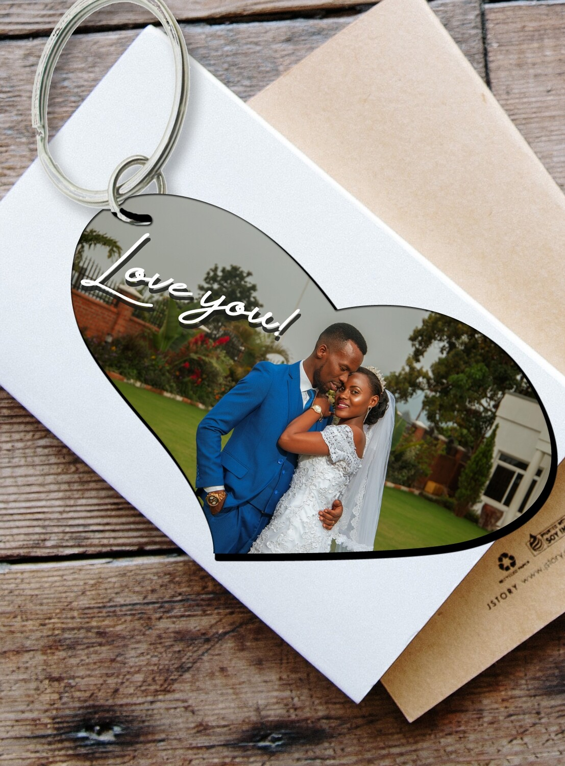 Personalized Photo Keyring