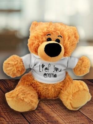 Personalised Lief Jou Teddy
