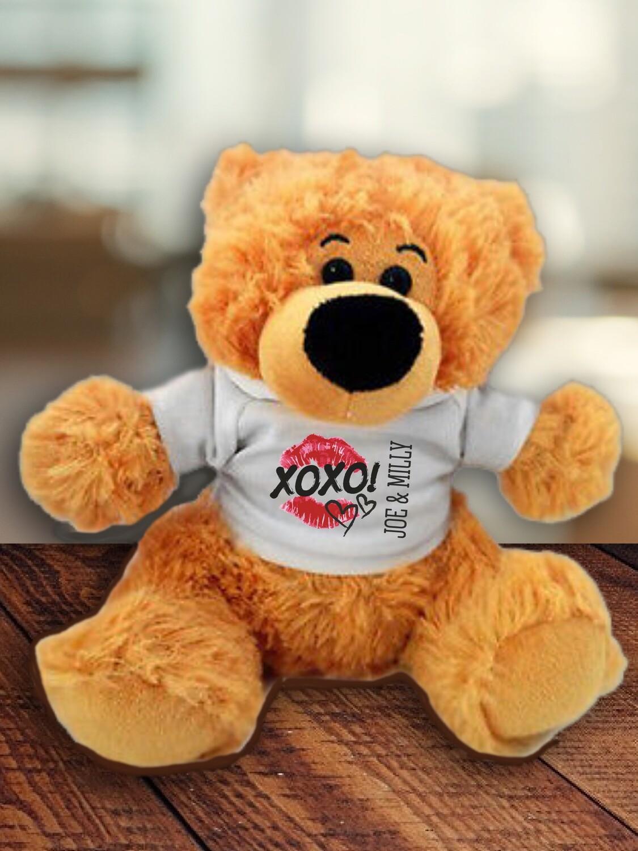 Personalised Xoxo Teddy