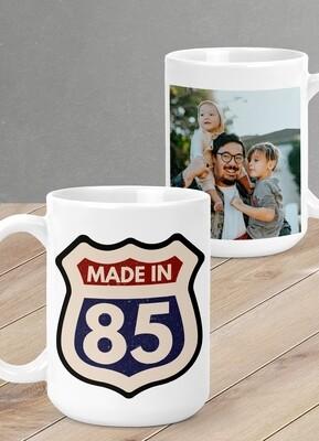 Personalised Made In Mug