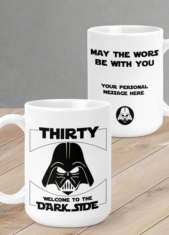 Personalised Dark Side Mug