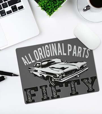 Personalized Vintage Mouse Pad