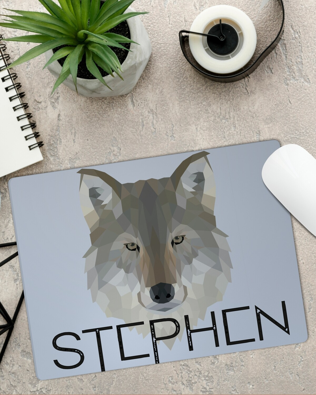 Personalized Wolfpack Mouse Pad