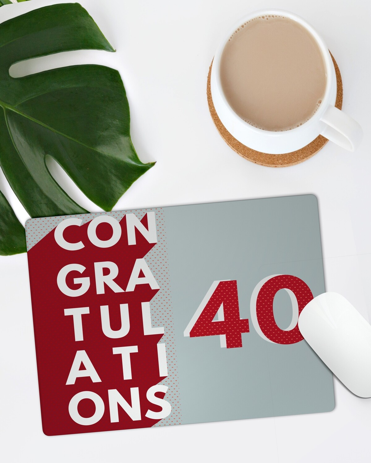 Personalized Congrats Mouse Pad