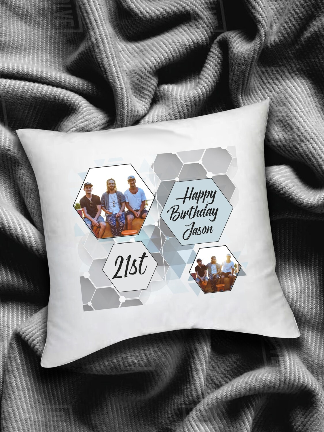 Personalized Photo Scatter Cushion