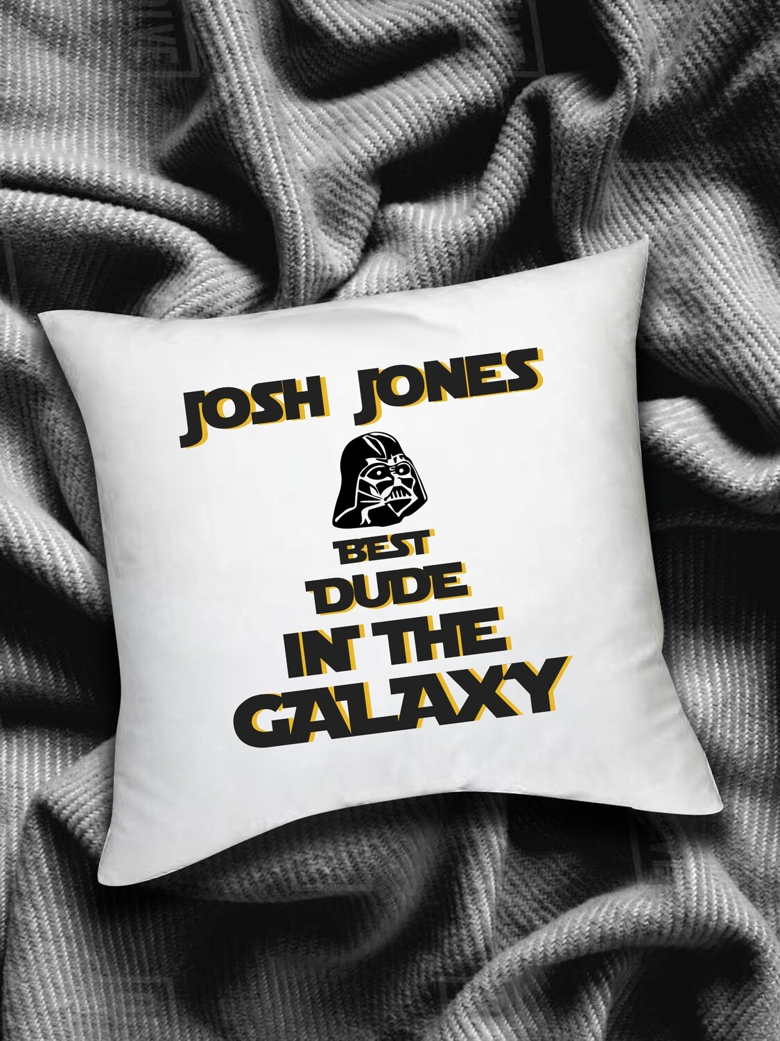 Personalized Galaxy Scatter Cushion