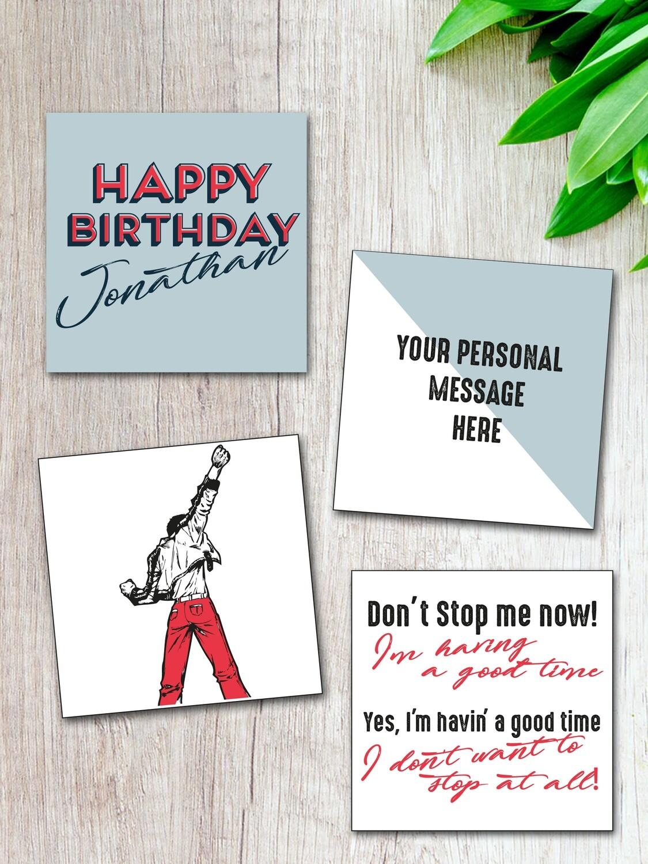 Personalised Birthday Magnet Set