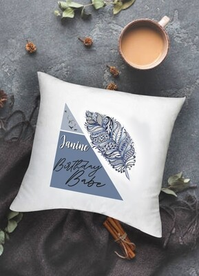 Personalised Boho Scatter Cushion