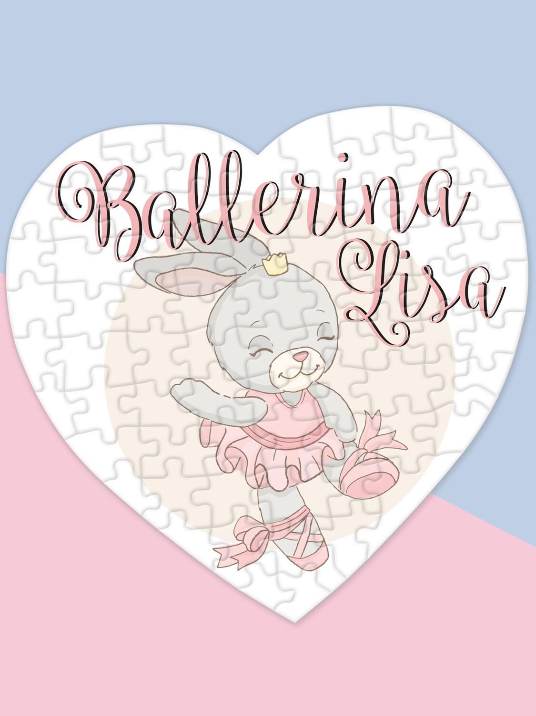 Personalised Ballerina Puzzle