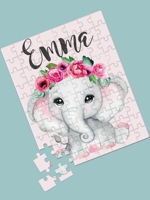 Personalised Elephant Puzzle