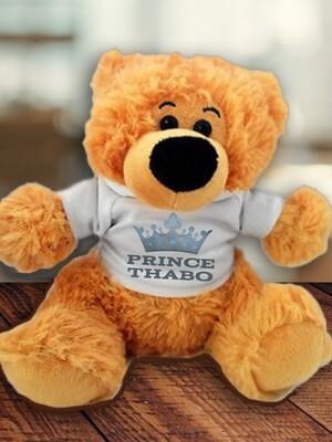 Personalised Prince Teddy