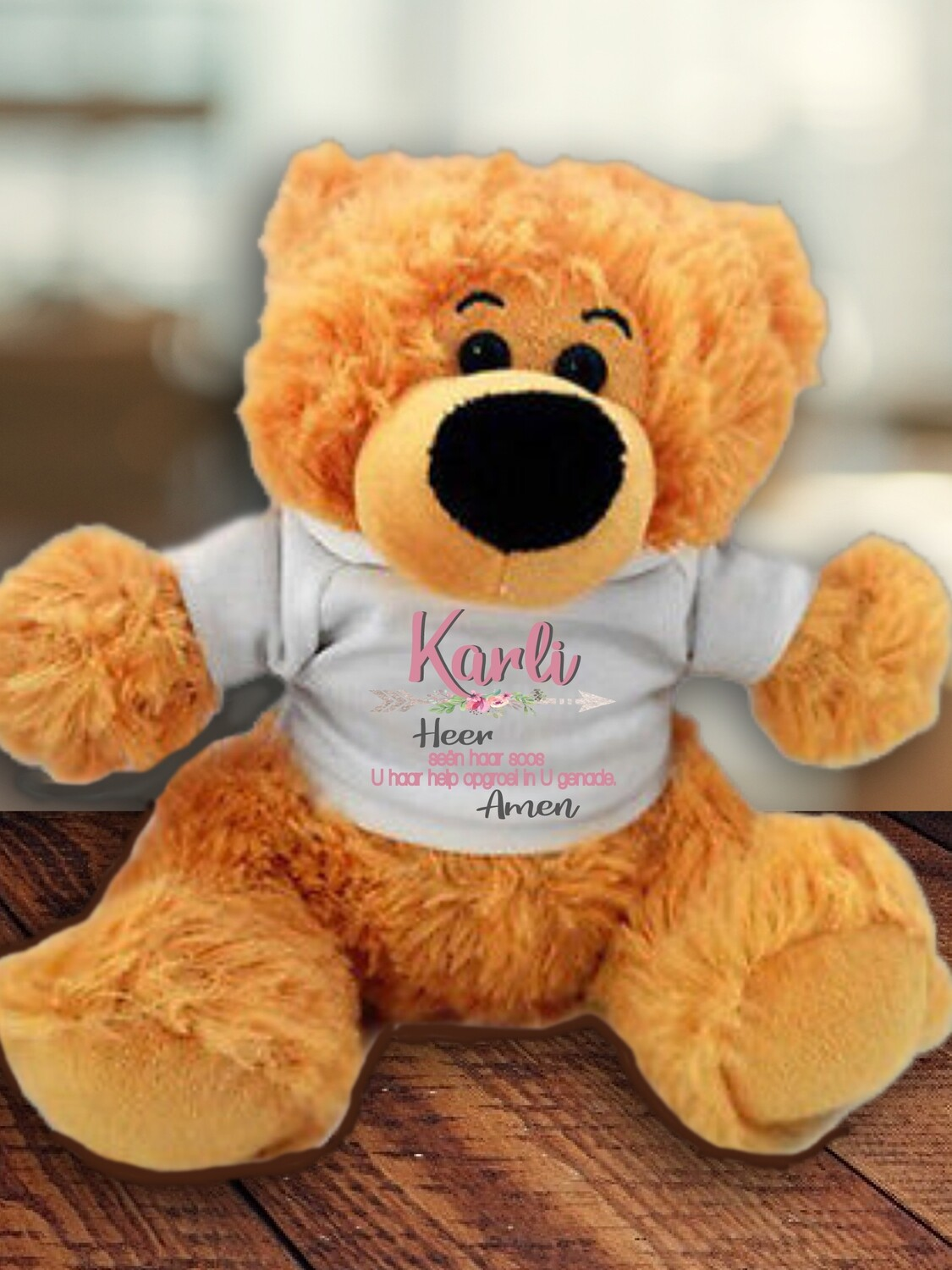 Personalised Prayer Teddy