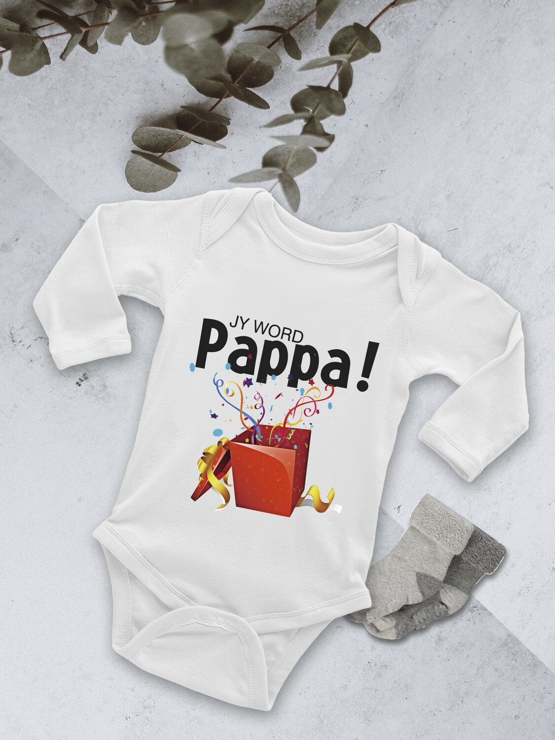 Personalised Confetti Baby Onesie